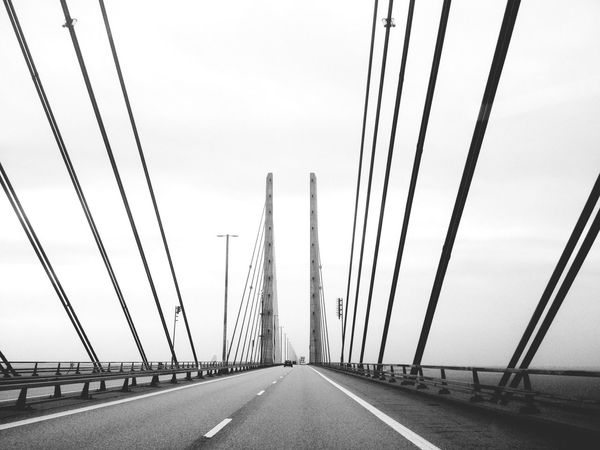 On the road to Denmark Eye4photography  Architecture Blackandwhite The Explorer - 2014 EyeEm Awards My Best Photo 2014 Vanishing Point Depth Of Field