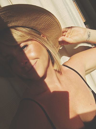 Sun and hat