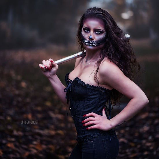 Halloween style Available Light Photography Photo Photooftheday Picoftheday Model Female Model Curly Girl Girls Autumn Nikon Photographer JuergenBauerPictures Lingerie Corset Portrait Adult Long Hair Beauty Fashion Fantasy Young Adult Young Women Glamour