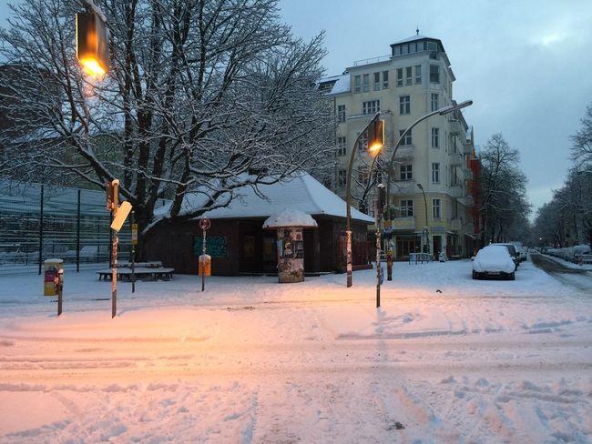 Winter Morning Nofilter Neukölln Berlin