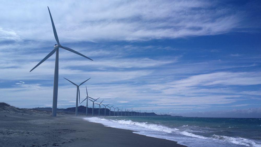 Alternative Energy Wind Power Fuel And Power Generation Sea Environmental Conservation Wind Turbine Renewable Energy