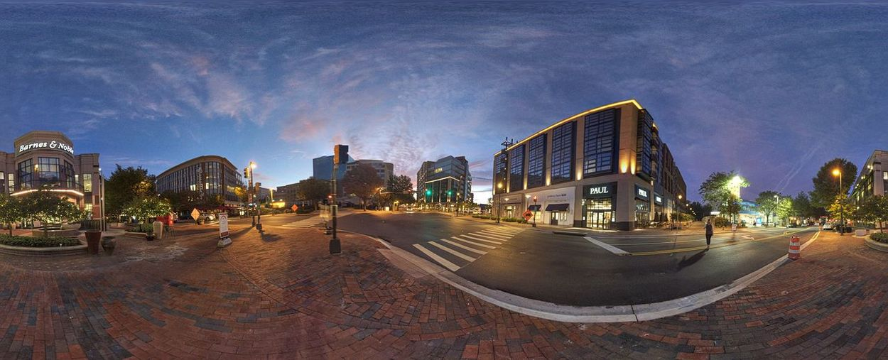 Sunrise Street Photography IPhoneography Panorama Architecture