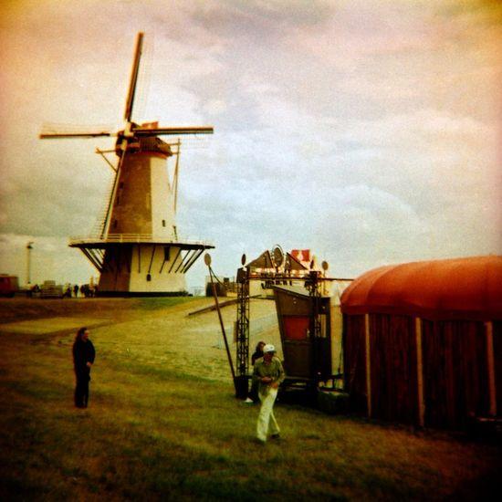 Windmill. Diana toycamera, Vlissingen, The Netherlands