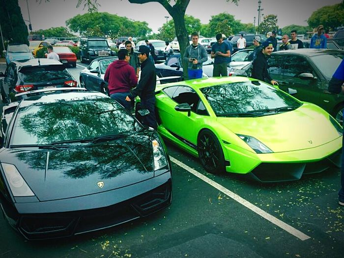 Two Beauties Lamborghini FAbLoUs what about that?