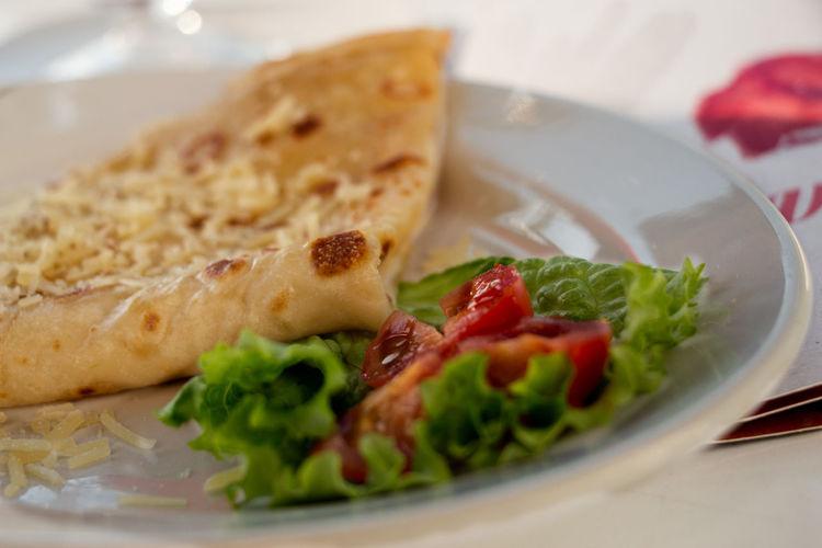 Detail shot of food