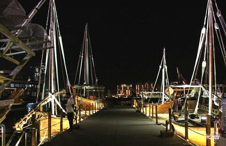 Katara Village Doha Qatar Qatarlife Boats Festival Culture Arab Nightphotography EyeEm Best Shots Lights