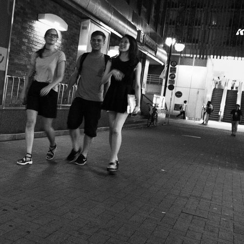 People Snapshot Streetphotography_bw B&w Street Photography Nightphotography Night Night Lights City Lights CityWalk On The Road City Life City Street Enjoying Life Drinking at Kichijoji 吉祥寺 , Tokyo Japan