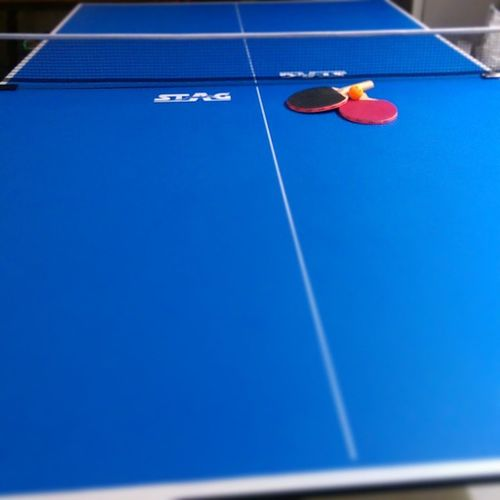 Way bigger than what i expected... Anyway from now on its game time every time... Tttable Pingpong Pingpongtable Game Fun Entertainment