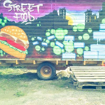 Street food. Graffiti Umeå Visitumea Sweden Visitsweden