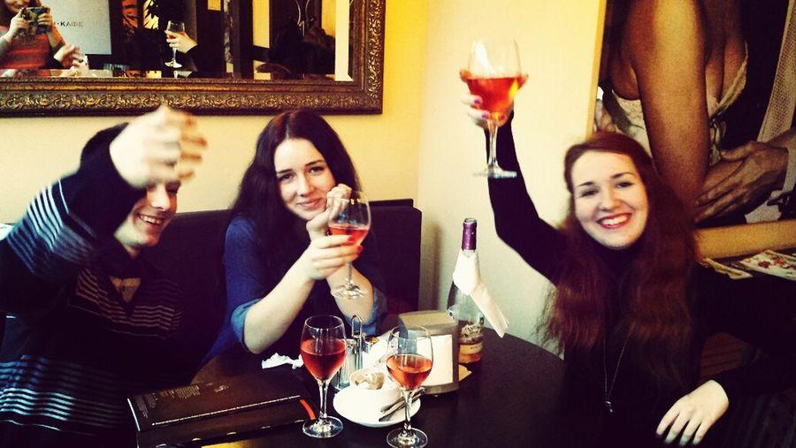 Christmastime Православное Рождество Wine Cafe