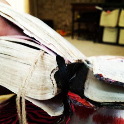 I'm thinking, I may need a new bible. Fallingapart Worn Ducktapedtwice Itsurvivedbiblecollege