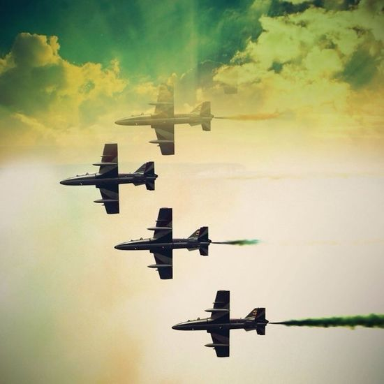 Airplane Effects Airshow Be Amazing
