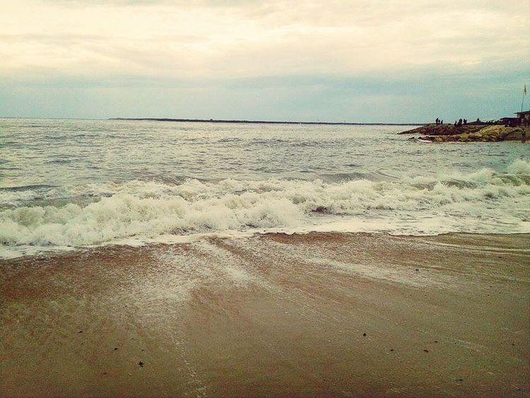 Waves Dune Du Pyla Beach Horizon