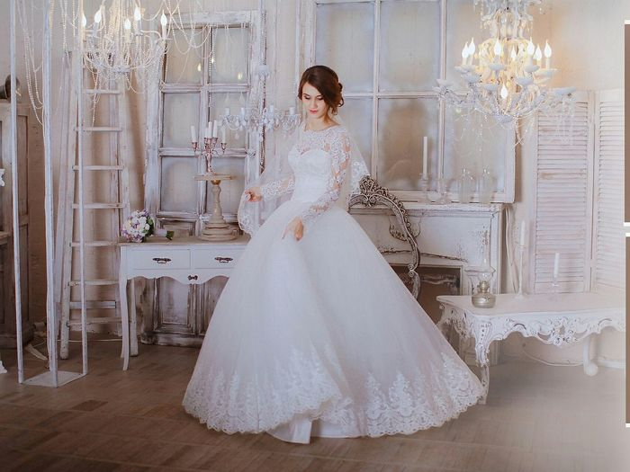 Bride Wedding Dress Adults Only Preparation  Indoors  Two People Window Young Adult People Fitting Room Bridal Shop Young Women Adult Women Only Women Trying On Wedding Friendship Smiling Day