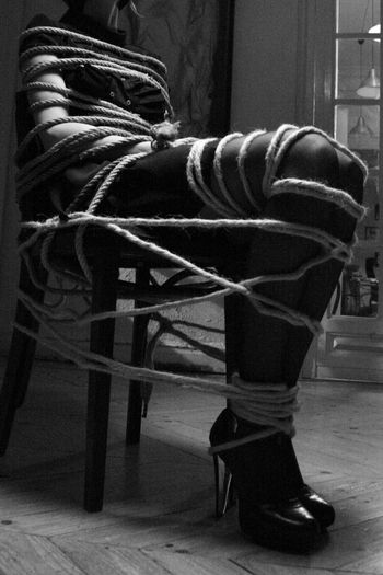 My Year My View Finding New Frontiers Playing Around Just For Fun Woman Knots Tied Blackandwhite Black & White Sensual_woman Fetichism Ataduras Strings Lets Play Baby If You Want...? Telling Stories Differently Sado Enjoying Life The Portraitist - 2016 EyeEm Awards Tailored To You Adventure Adventure Club Lets Play Monochrome Photography