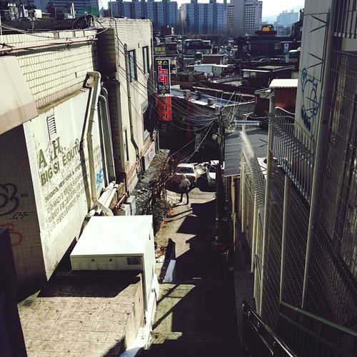 South Korea Seoul Alley