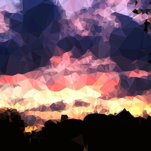 Polygon Vividsky LondonDiaries🇬🇧🇬🇧🇬🇧 Mesmerizing