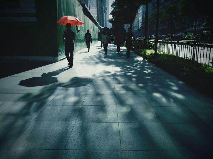 Men Walking Lifestyles Adults Only Adult People Outdoors Nature Day Light And Shade Light Shadow Walkway Walk Your Talk Road Personal Perspective