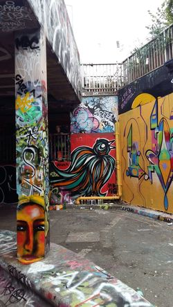 London Leake St Graffiti Street Art Art And Craft Multi Colored Creativity Building Exterior No People Finding New Frontiers Adapted To The City England🇬🇧 Neighborhood Map EyeEm LOST IN London Adventures In The City