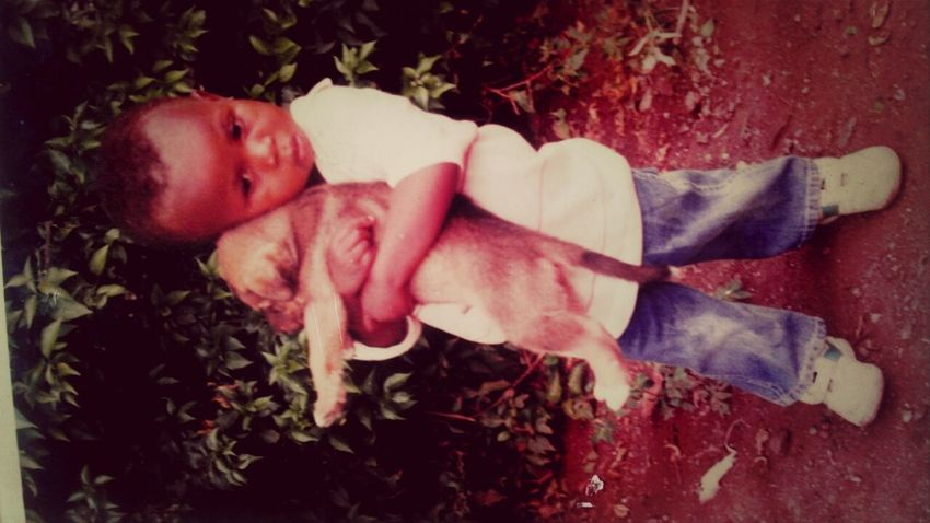 me.. and....my little dog. Check This Out
