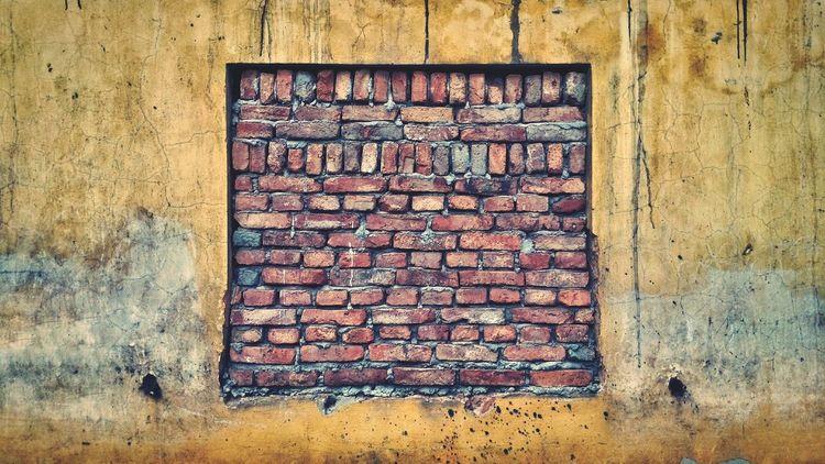 Wall Window Old Wall Bricks Brick Wall Brickporn Street Bricks Brickswork Brick Trick Window View The Changing City