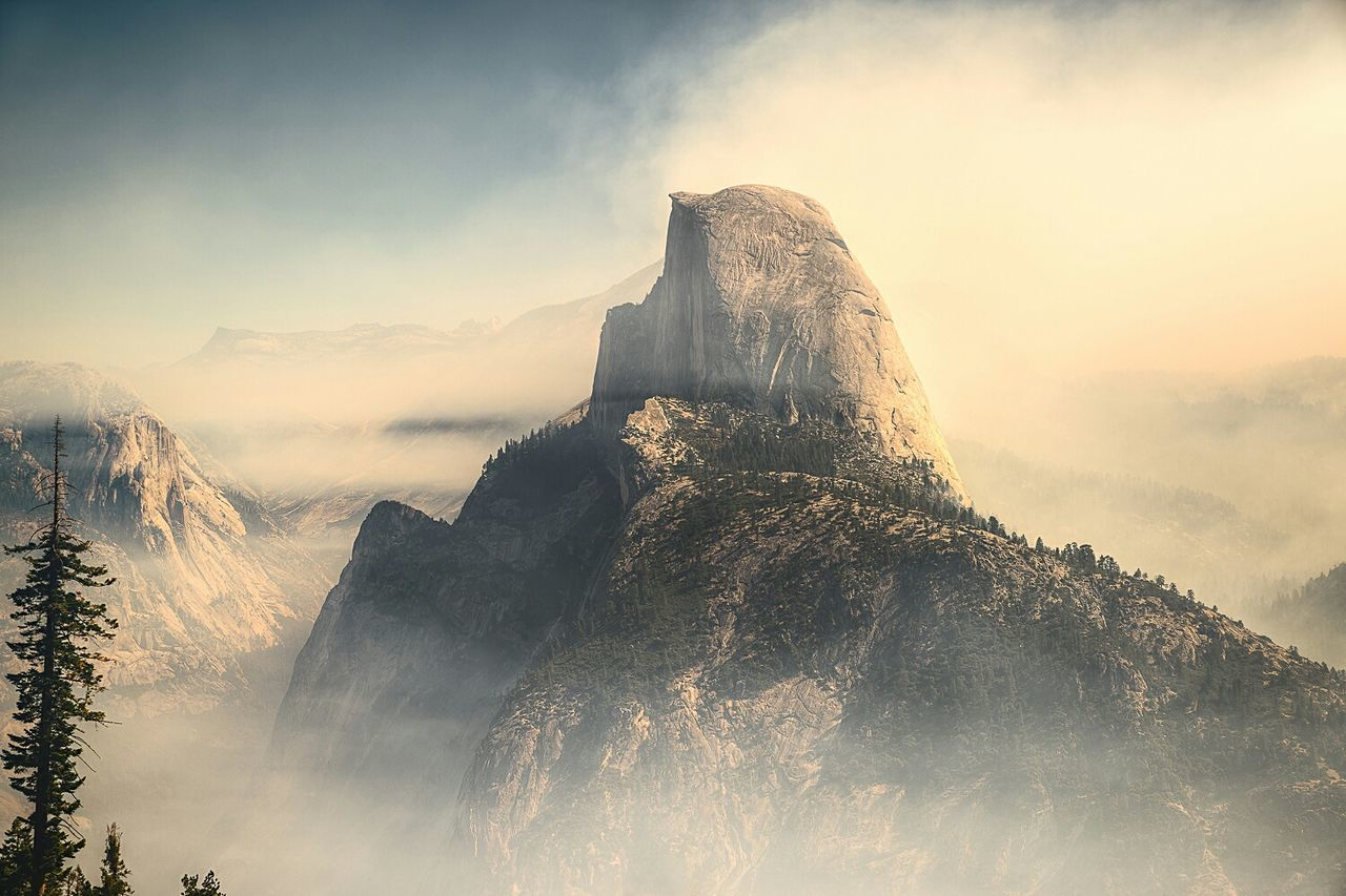 Majestic rock formation