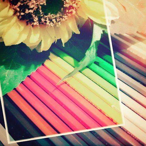 Photoproject365 June2015 Clovewebstudio Instamakassar Art Day 14 of 365 - Color Pencils Made with Lidow