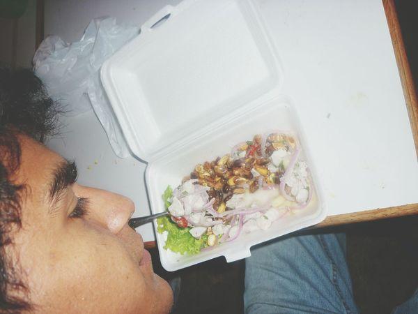 nada como un ceviche peruano ♥ ♡