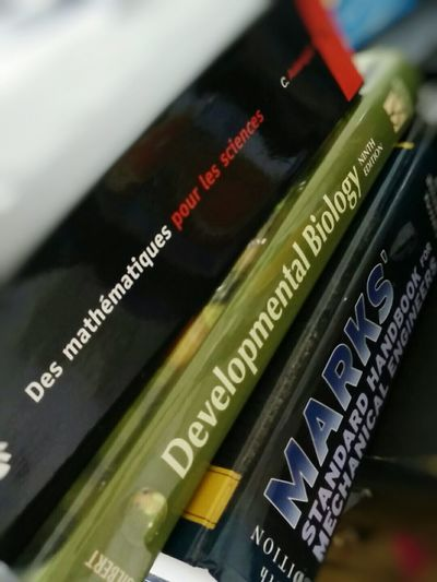 Science Books Studying Back To Basics  Biology ! Developmental Biology Mathematics Mechanical Engineering