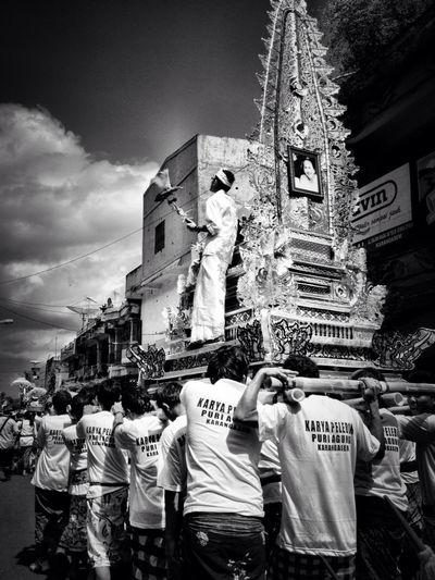 Bali Ngaben Ceremony