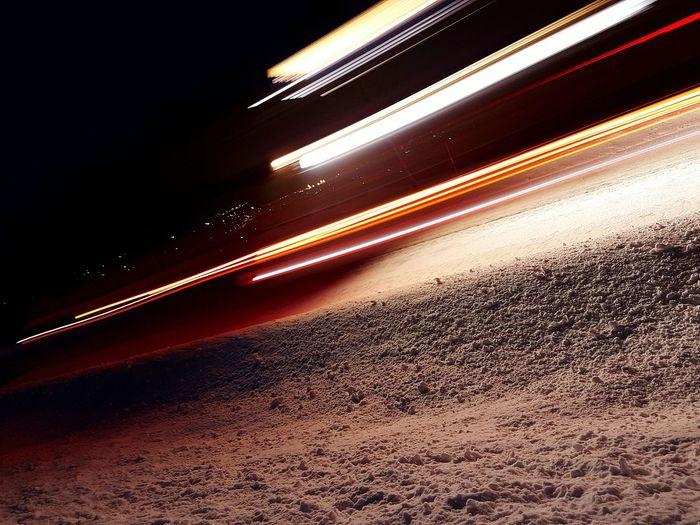 First Eyeem Photo Fashion Norway li Light And Shadow Light Truck Speed GalaxyS7Edge Snow Street Snowstreet