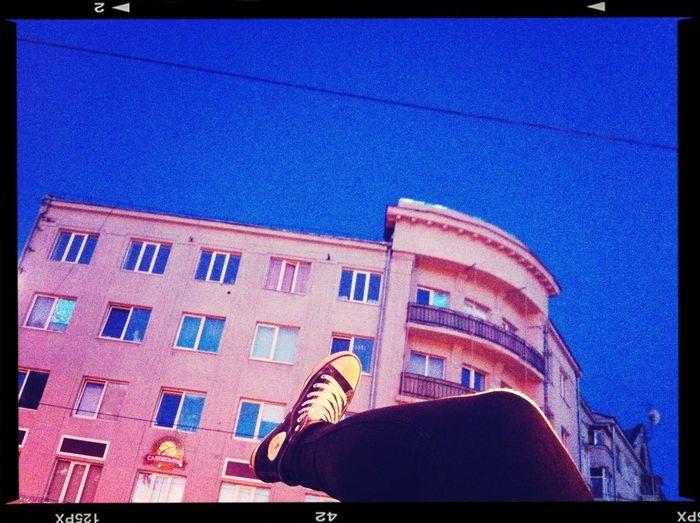 Walking Around Kharkiv Beketov Converse
