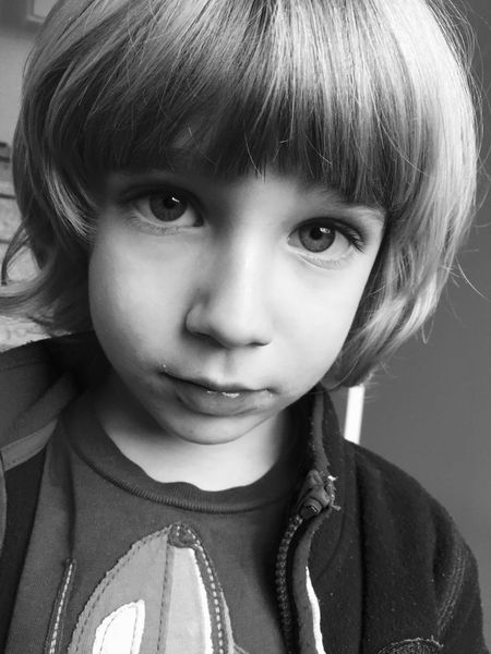 Black And White Portrait Children Blackandwhite Raul