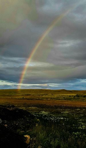This Rainbowshot called The Reminder, was taken Traveling through the Iceland Countryside. This was an unexpected treat to an already beautiful Icelandic Summer Evening.