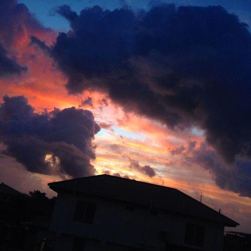 Sunset Time Beautiful Sky❤ Beautiful Scenery
