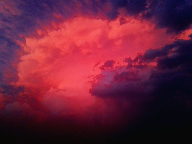 EyeEm Selects Backgrounds Dramatic Sky Multi Colored Power In Nature Beauty In Nature Thunderstorm Storm Cloud