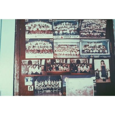 Memories at the back of my door.