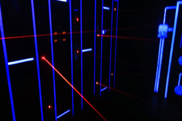 Laser Security Mission Impossible
