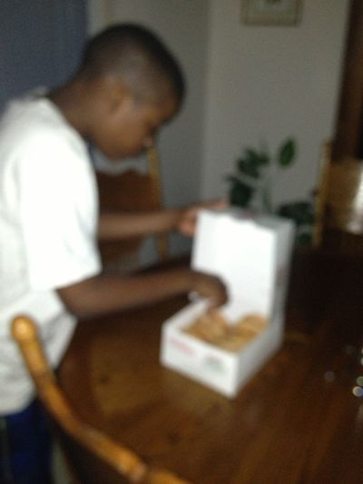 Dhis Izz Wat I Walk N Da House Too After Work Smh My Little Brother