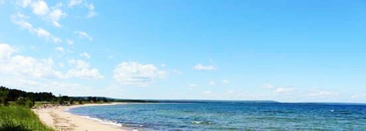Lakeshore Lake Superior Beautiful Day National Lakeshore