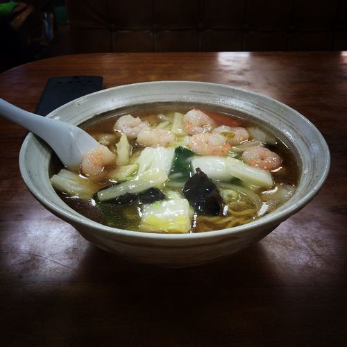 Ramen Seafood Noodle Noodles Bowl Food And Drink Table Food Indoors  Freshness Serving Size Ready-to-eat