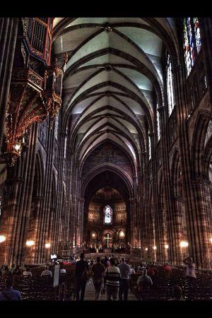 Notre Dame De Strasbourg Religion Traveling inside