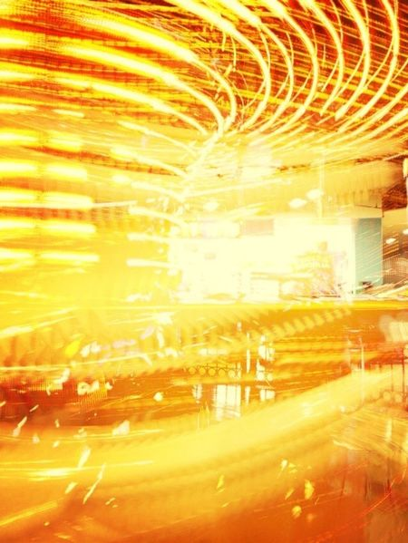 Just a carousel, taken with iphone 4s, with slowshutter+.