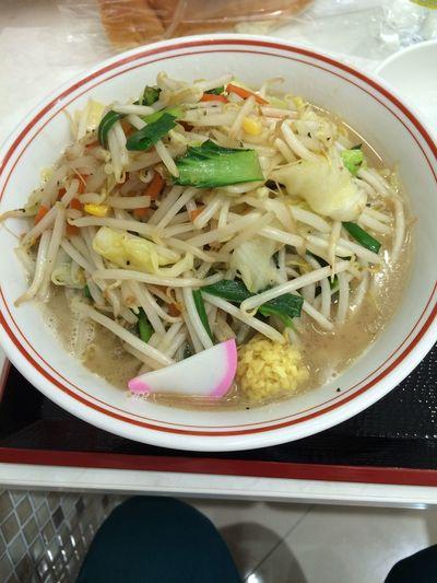 トナリ タンメン 大盛り 野菜たっぷりでうまー