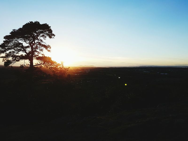 EyeEm Nature Lover Eyeem Photo Calm Nature Sunset Winter Long Distance Shot