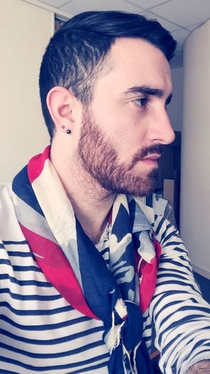Sweet Sugar Candyman Gay Gayboy Beard Gaybeard Brown Greek