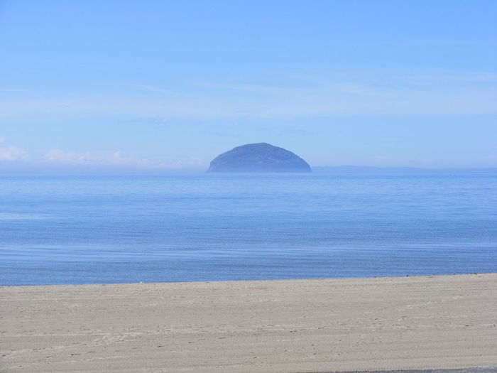 Ailsa Craig Ayrshire Beauty In Nature Horizon Idyllic Nature Scenics Scotland Sea Sky Tranquil Scene Tranquility Water