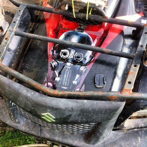 Part of the wrap done on the king quad Facebook Atv Sidexside Utv quad suzuki honda yamaha arcticcat polaris kawisaki 4x4 mud dirt fun