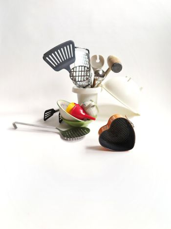 Fork White Background Still Life Studio Shot No People Food And Drink Food Plate Indoors  Sweet Food Close-up Kitchen Utensils Kitchen Heart Shape Baking Baking Pan Cooking Equipment Creativity Creative Kitchenware Kitchen Things Kitchen Equipment EyeEm Ready   AI Now Food Stories