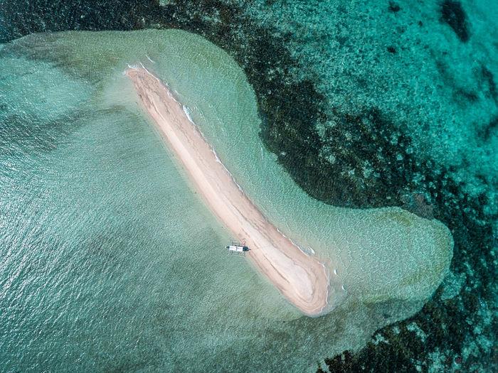 Boat Eyeem Philippines High Angle View Island Outdoors Sandbar Scenics Sea